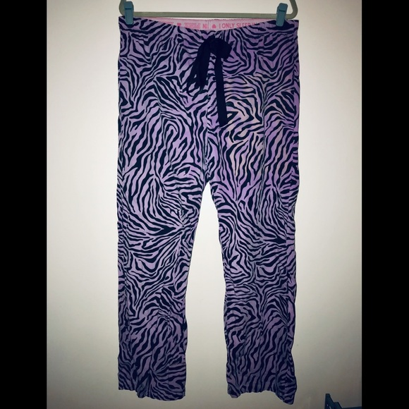 PINK Victoria's Secret Other - PINK Victoria's Secret sleep pajama pants zebra